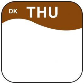 Daymark Label Thursday 1.9cm 1x1000