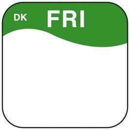 Daymark Label Friday 1.9cm 1x1000