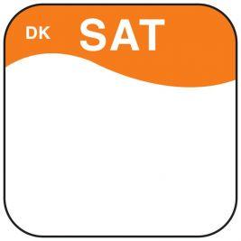 Daymark Label Saturday 1.9cm 1x1000