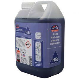 Superblend H5 Acidic Washroom Cleaner 2x2l