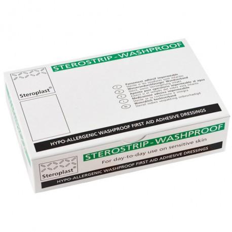 Sterostrip Washproof Plasters 7.5x2.5cm 1x100