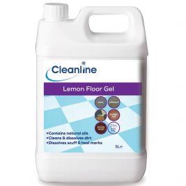 Cleanline Lemon Floor Gel 1x5l