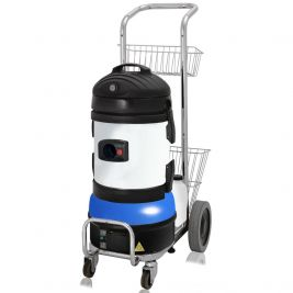 Duplex Jet Vac Alpha Steam Cleaner
