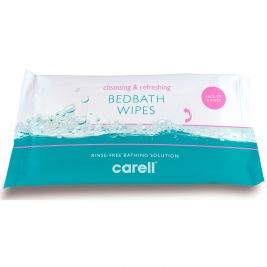 Carell Bed Bath Wipes 24x8