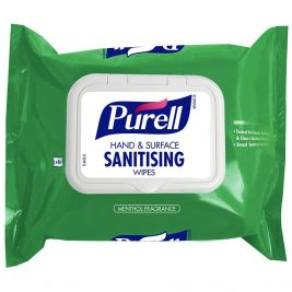 PURELL Hand and Surface Sanitising Wipes 1x40