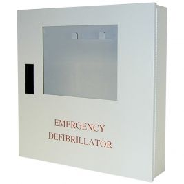 Lifeline AED Wall Mounted Cabinet Alarmed