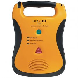 Lifeline AED Semi-Automatic Defibrillator with High Capacity Battery