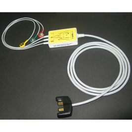 Lifeline PRO ECG Monitoring Adaptor Cable and Pads