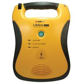 Lifeline AUTO Defibrillator with High Capacity Battery