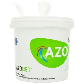 Azodet Detergent Wipes Bucket 4x300