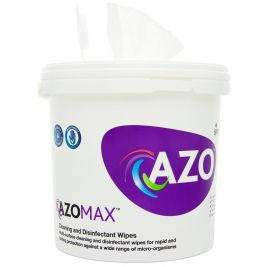Azomax Cleaning and Disinfection Wipes Bucket 4x300