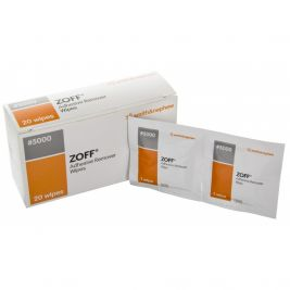 Zoff Adhesive Remover Wipes 1x20