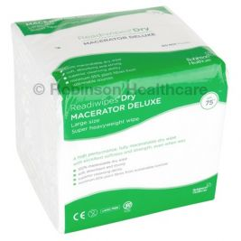 READIWIPES MACERATABLE LARGE X75WIPES
