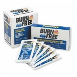 Burn Free Sterile Pain Relieving Gel 3.5ml Sachet 1x20