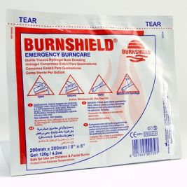 Burnshield Hydrogel Dressings 20x20cm 1x10