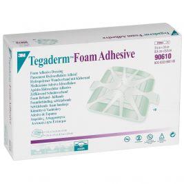 Tegaderm Foam Adhesive Dressing Square 8.8x8.8cm 1x10