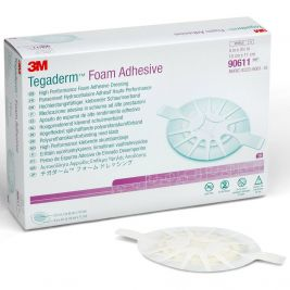 Tegaderm Foam Adhesive Dressing Oval 10x11cm 1x10