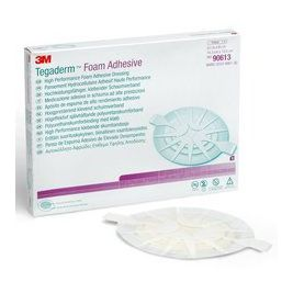 Tegaderm Foam Adhesive Dressing Oval 14x15cm 1x5