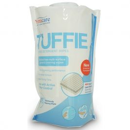 Tuffie Detergent Wipes Flexible Canister 1x150