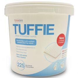 Tuffie Detergent Wipes Bucket 1x225