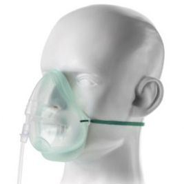 ECOLITE ADULT MED CON O2 MASK 1.8M TUBE