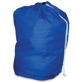 Drawstring Laundry Bag Blue