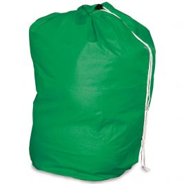 Drawstring Laundry Bag Green