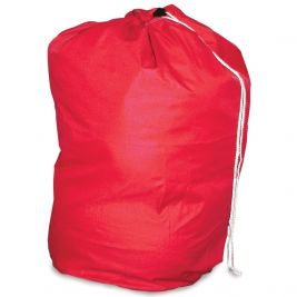 Drawstring Laundry Bag Red