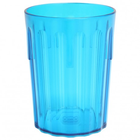 COPOLYESTER FLUTED TUMBLER 9OZ