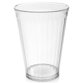 COPOLYESTER FLUTED TUMBLER 5OZ