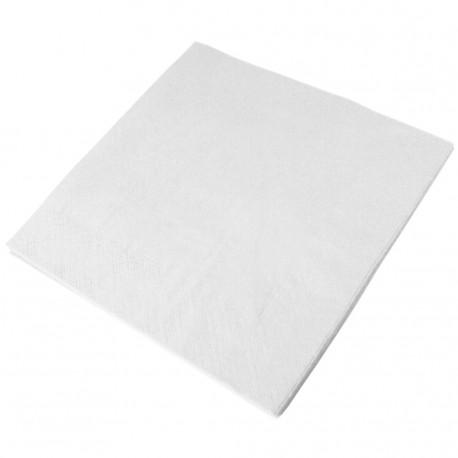 1 PLY WHITE NAPKIN 32x30cm