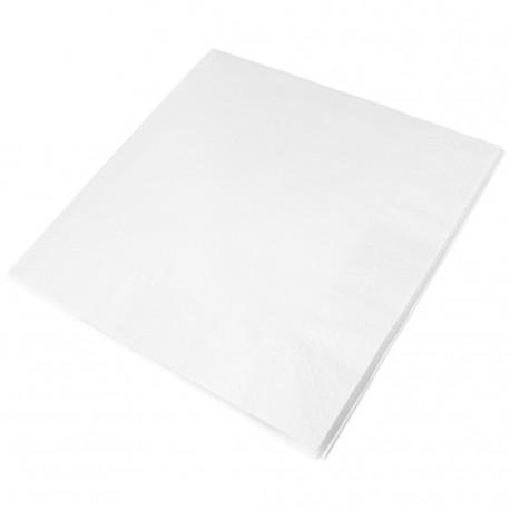 40cm 2PLY WHITE DINNER NAPKIN