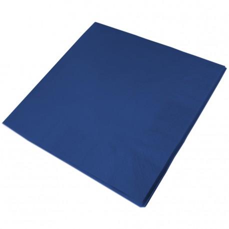 33cm 2PLY BLUE NAPKIN 1x2000