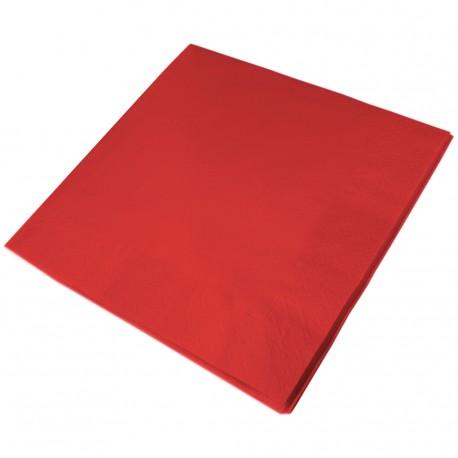33cm 2PLY RED NAPKIN 1x2000