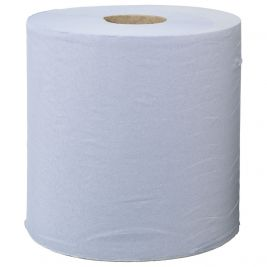 Centrefeed Roll 2 Ply Blue 1x6