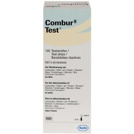 COMBUR-9 TEST STRIPS 1 X 100