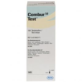 Combur 10 Test Strips 1x100