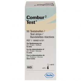 Combur 3 Test Strips 1x50