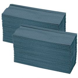 Z-fold Hand Towel 1 Ply Blue 15x200