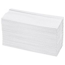 Inter-Fold Hand Towel 2 Ply White 20x160