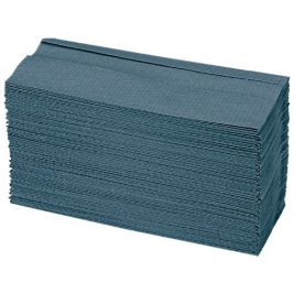 Inter-Fold Hand Towel 1 Ply Blue 20x250