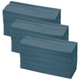C-fold Hand Towel 1 Ply Blue 16x164