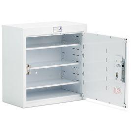 Drug Cabinet 1 Door 3 Deep Shelves W/o Light 60x30x60cm