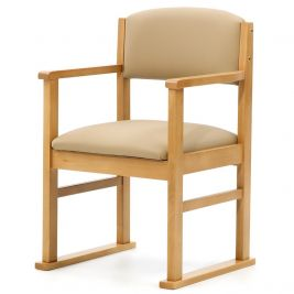 Oakdale Side Chair with Arms and Skis