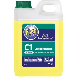 Flash Professional C1 Floor and Surface Cleaner 2 Litres 1x2