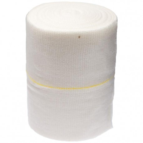Tubifast Elasticated Viscose Tubular Bandage Yellow Line 10.75cmx10m