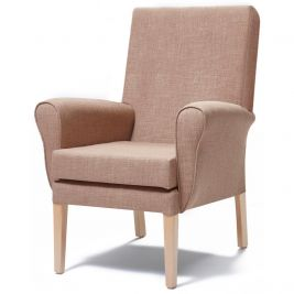 Morley Chair In Fabric With No Wings