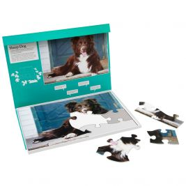 Jigsaw Puzzle Sheep Dog