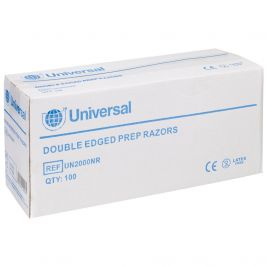 Uhs Double Edged Prep Razors 1x100