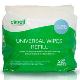 Clinell Universal Wipes Bucket Refill 1x225